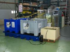 Montage expérimental en eau de mer naturelle pour le suivi de la toxicité des éléments métalliques sur les organismes marins