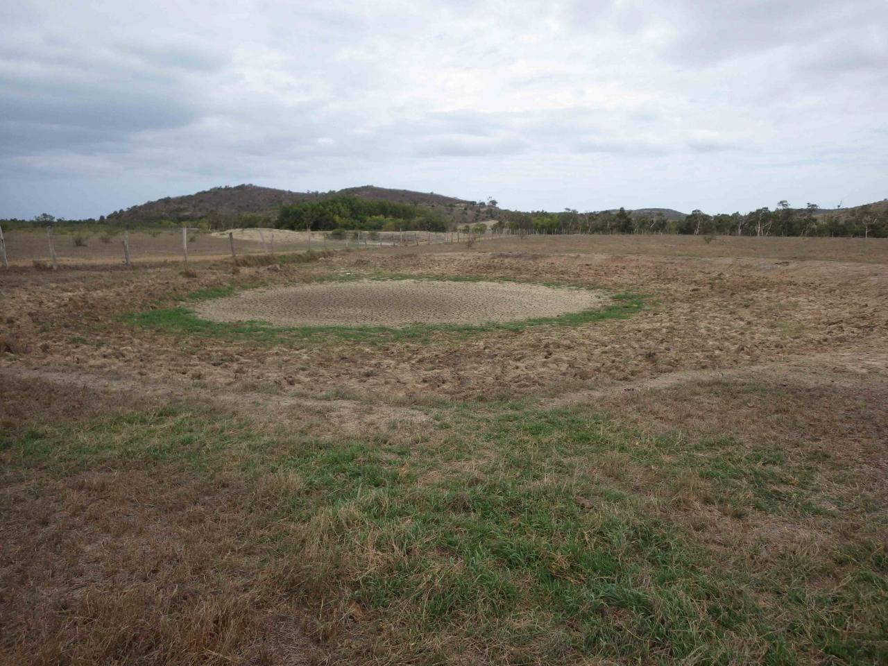 Planète revisitée, Nouvelle-Calédonie. Mare temporaire à sec. Photo Nicolas Rabet